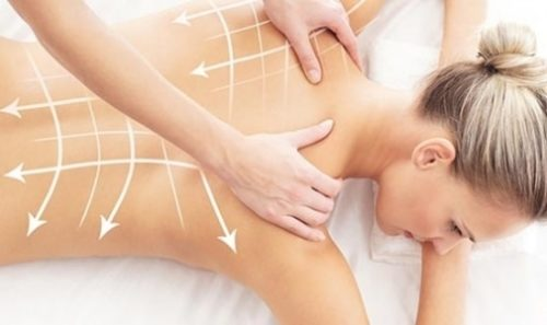Healing effect of massage