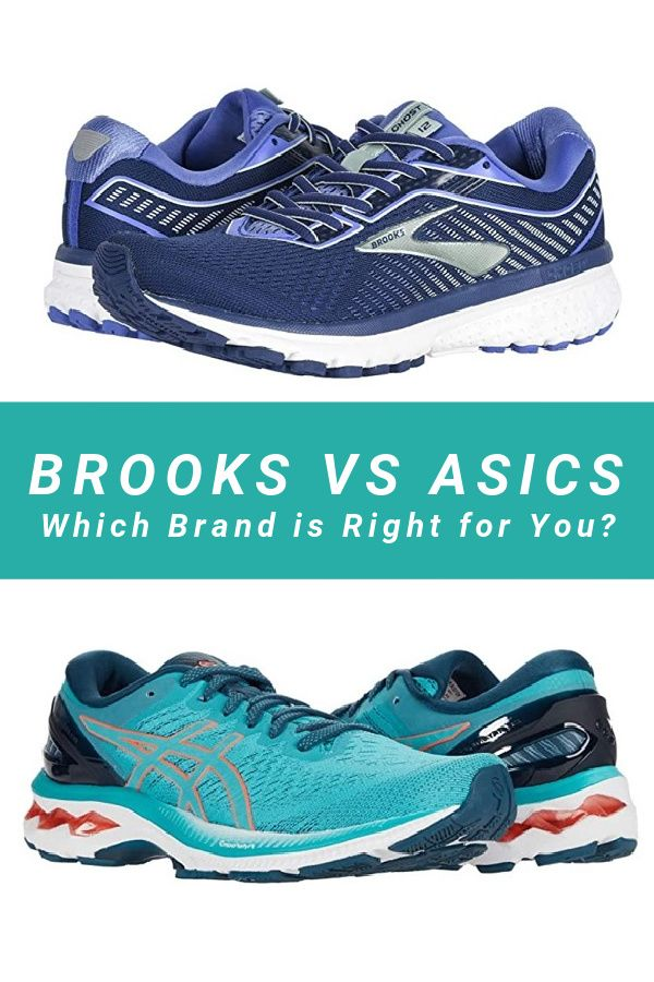 Brooks vs Asics: What's the Difference in Running Brands